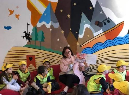 """Lexim me femijët e kopshtit """"Princi i Lumtur"""""""
